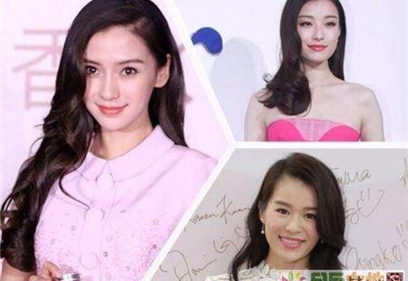 娱乐圈女神们S型斜刘海大pk 谁才是万能发型女王?
