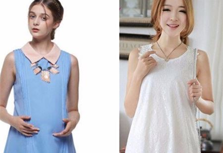 设计师推荐宽松连衣裙让你身为准妈妈也能如此迷人